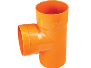 Raccordi per tubi pvc arancio edilizia